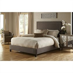 PRI Squared Nailhead Bed in Brown