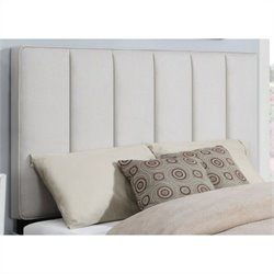 PRI Panel Headboard in Natural - Full/Queen