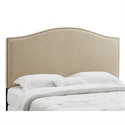 PRI Panel Headboard California King/King in Tan