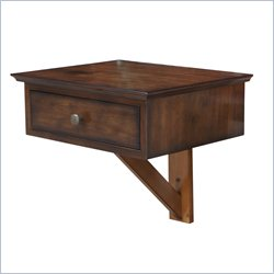 Arason Enterprises Float A Table in Country Chestnut
