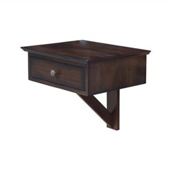 Arason Enterprises Float A Table in Mahogany