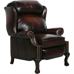 Barcalounger Danbury II Recliner in Steson Coffee