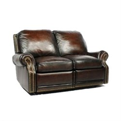 Barcalounger Premier II Power Reclining Loveseat in Stetson Coffee