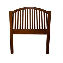 Bernards Twin Single Arch Spindle Headboard in Pine