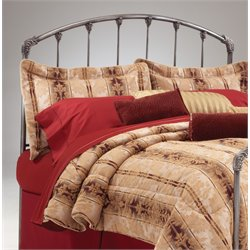 Bernards King Spindle Headboard in Sterling Silver