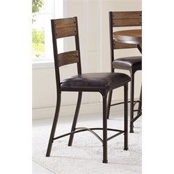 Bernards Stockton Wood Bar Stools