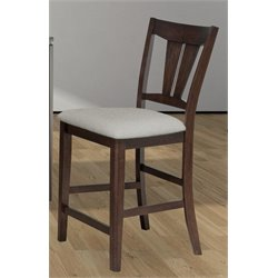 Bernards Tucson Wood Bar Stool