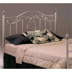 Bernards San Angelo Headboard in Nickel Finish - Queen