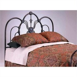 Bernards Madrid Spindle Headboard in Bronze - Full