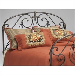 Bernards Athena Verdi Spindle Headboard in Brown - Full