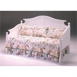 Bernards Somerville Daybed and Link Spring in White