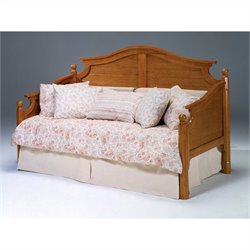 Bernards Pine Americana Daybed and Link Spring in Pine