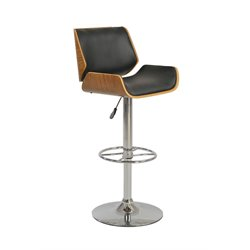 Chintaly Pneumatic Bar Stool in Black