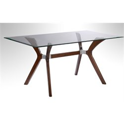 Chintaly Imports Dining Table in Brown