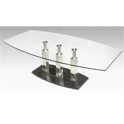 Chintaly Imports Coffee Table in Black