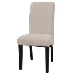 Chintaly Dining Chair in Beige Fabric