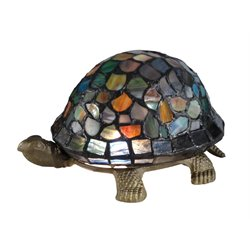 Dale Tiffany Blue Turtle Accent Lamp