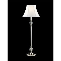 Dale Tiffany Celia Crystal Buffet Lamp