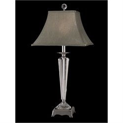 Dale Tiffany Penfield Crystal Table Lamp