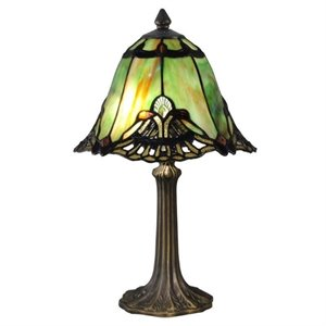 Dale Tiffany Green Haiawa Accent Lamp