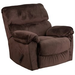 Rocker Recliner in Chocolate