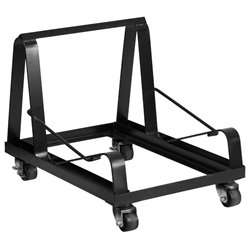 Heavy Duty Stacking Chair Dolly in Black