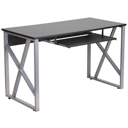 Flash Furniture Computer Desk in Black