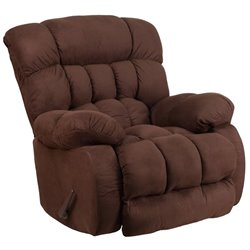 Rocker Recliner in Fudge Brown