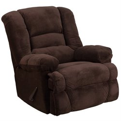 Dynasty Rocker Recliner in Chocolate