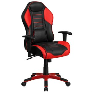 High Back Office Chair in Red