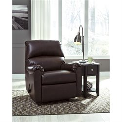 Flash Furniture Faux Leather Rocker Recliner
