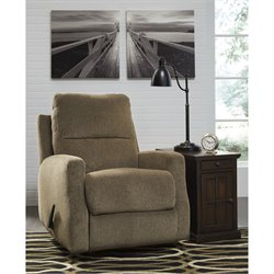 Flash Furniture Chenille Rocker Recliner