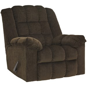 Flash Furniture Twill Rocker Recliner