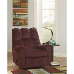 Flash Furniture Fabric Rocker Recliner-B
