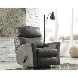 Flash Furniture Faux Leather Rocker Recliner-A