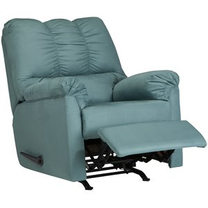 Flash Furniture Microfiber Recliner in Sky