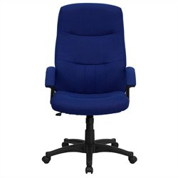Flash Furniture High Back Swivel Office Chair in Navy Blue