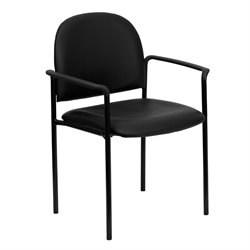 Side Guest Chair in Black