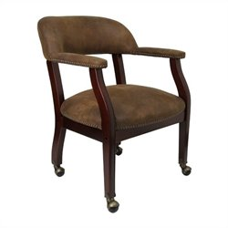 Jacket Conference Guest Chair in Brown