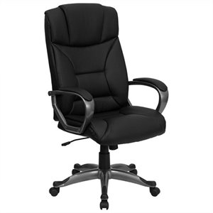 Office Chair in Black with Arms
