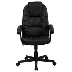 Flash Furniture High Back Swivel Office Chair in Black