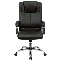 Mid Back Managers Office Chair in Brown