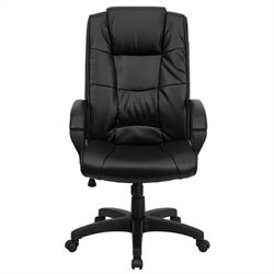 Executive Office Chair with High Back in Black