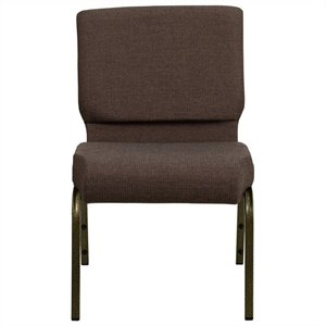 Stacking Church Stacking Guest Chair in Brown