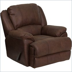 Flash Furniture Bomber Jacket Microfiber Lever Rocker Recliner