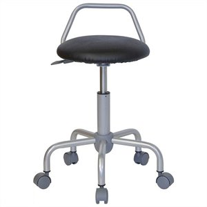 Ergonomic Drafting Chair in Black