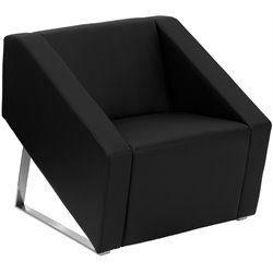 Flash Furniture Hercules Smart Series Reception Chair in Black