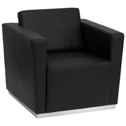 Flash Furniture Hercules Trinity Series Contemporary Chair in Black