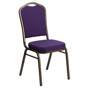 Banquet Stacking Chair in Purple