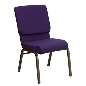 Church Stacking Chair in Royal Purple